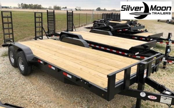 "2019 Stingray 82"" x 20 14K Equipment Trailer in Barton, AR"