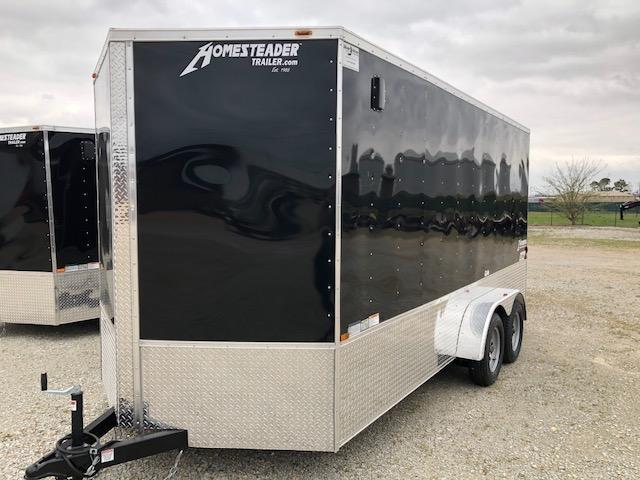 2020 Homesteader 7x14 OHV Tandem Axle Cargo Trailer