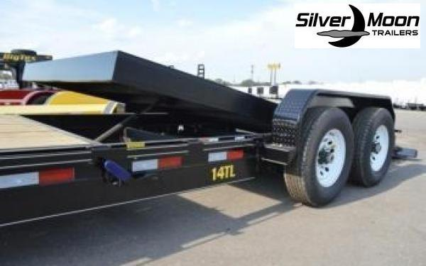 "2020 Big Tex Trailers 14TL 83"" x 20 Tilt Bed Equipment Trailer 16+4 in Rector, AR"