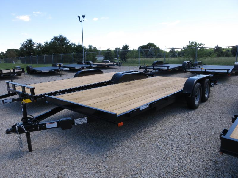 18' Car Trailers Wood Floor w/ ramps - Brake in Ashburn, VA