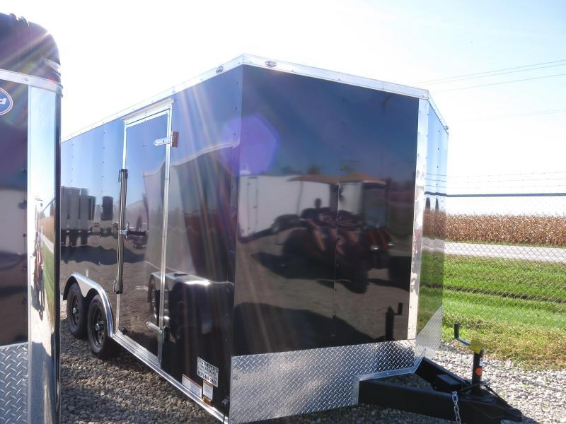 Continental Cargo 8.5X18 Enclosed Trailer W/ Ramp Door