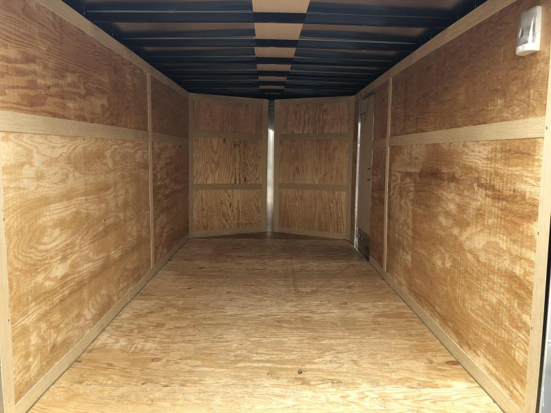 Homesteader 7x14 Enclosed Trailer w/ Double Rear Doors