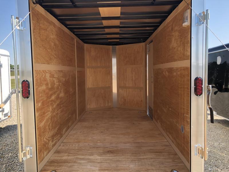 Homesteader Trailers 6x10 Enclosed Trailer w/ Ramp Door