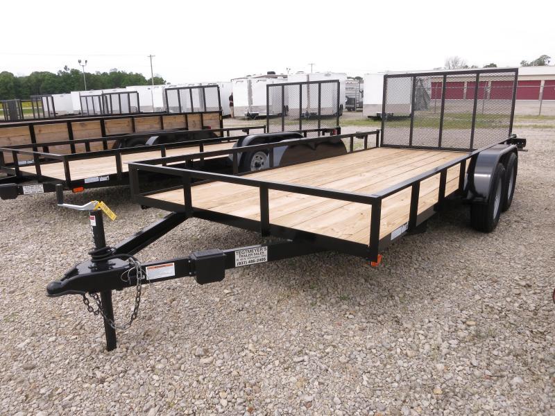 American Manufacturing 7x16 Utility Trailer w/ Gate in Ashburn, VA