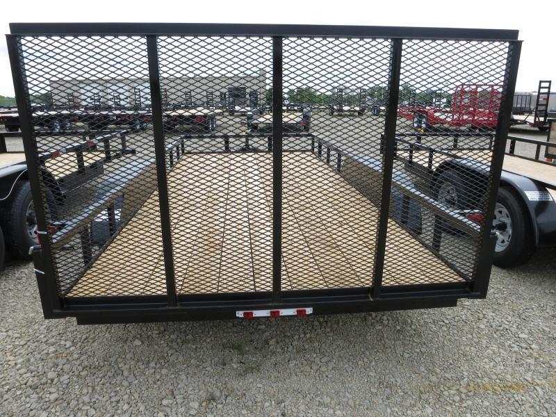 American Manufacturing 7x16 Utility Trailer w/ Gate