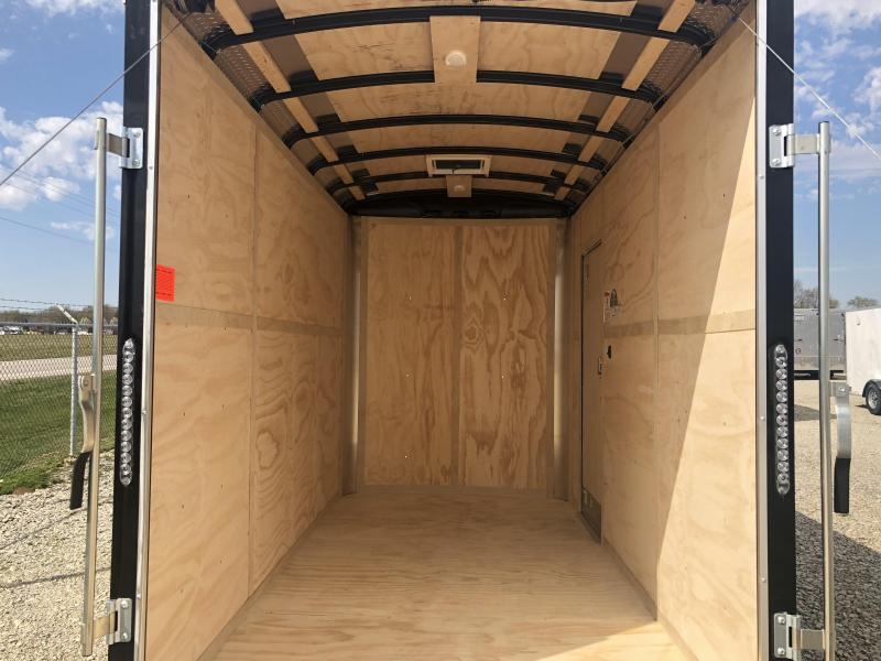 Continental Cargo 6X12 Enclosed Trailers W/ Ramp Door