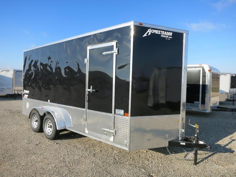 Homesteader Trailers 7x16 Enclosed Trailer w/ Ramp Door - Extra Height - Vents - Drings in Ashburn, VA