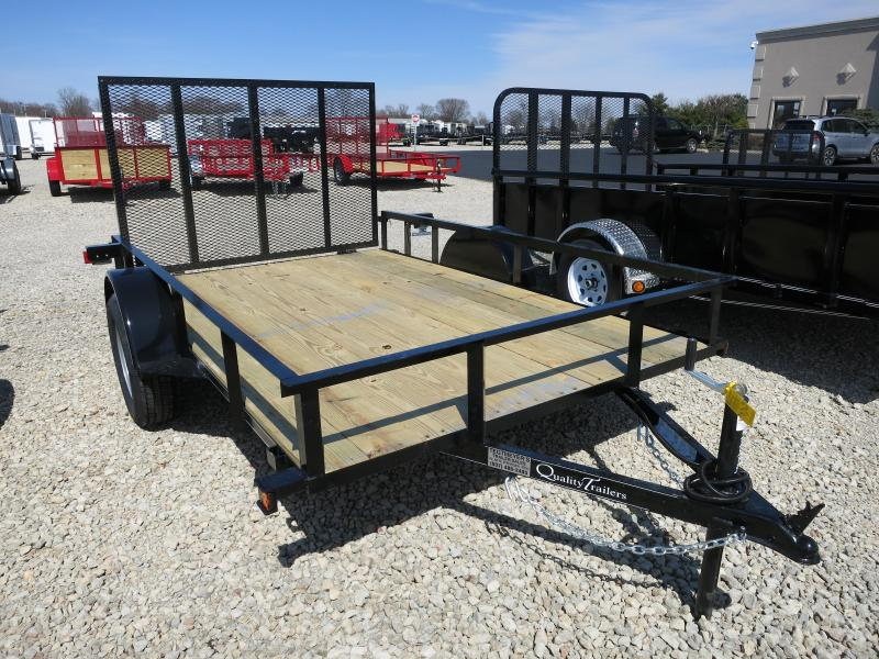 Quality Trailers 6x10 Wood Floor Utility Trailer