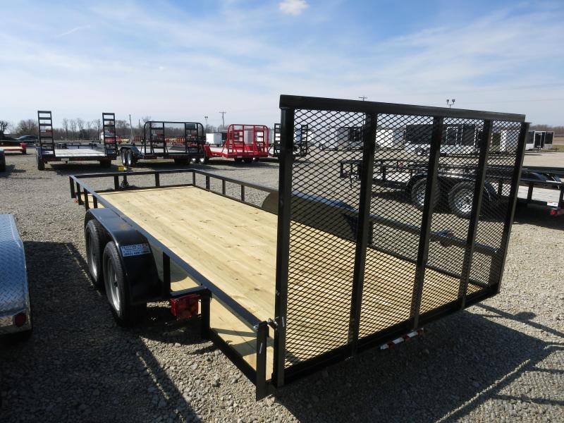 American Manufacturing 6x18 Utility Trailer w/ gate