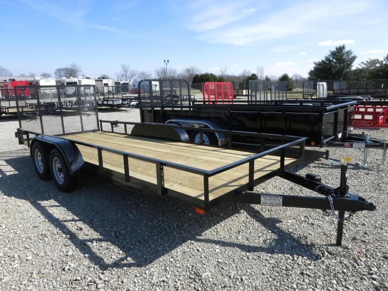 American Manufacturing 6x18 Utility Trailer w/ gate in Ashburn, VA