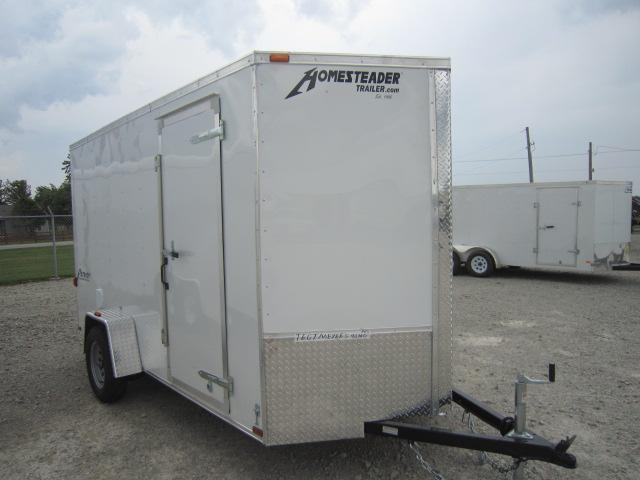 Homesteader 6x12 Enclosed Trailers w/ Ramp Door - D Ring