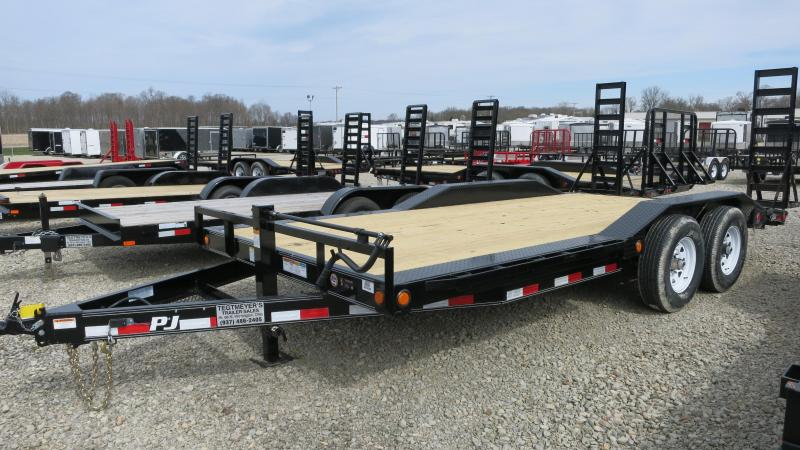 "PJ Trailers 18' x 6"" Channel Super-Wide Trailer"