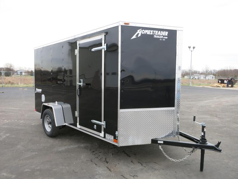 Homesteader Trailers 6x12 Enclosed Trailer w/ Ramp Door - D Rings - Side Wall Vents in Ashburn, VA