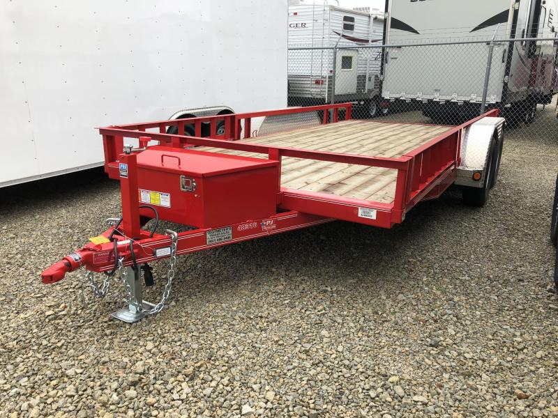 Used 16' PJ Trailers Utility