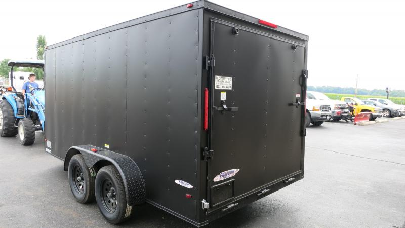 Freedom Trailers 7x14 Enclosed Trailer w/ R& Door - RV Door  sc 1 st  Tegtmeyer Trailer & Freedom Trailers 7x14 Enclosed Trailer w/ Ramp Door - RV Door | PJ ...