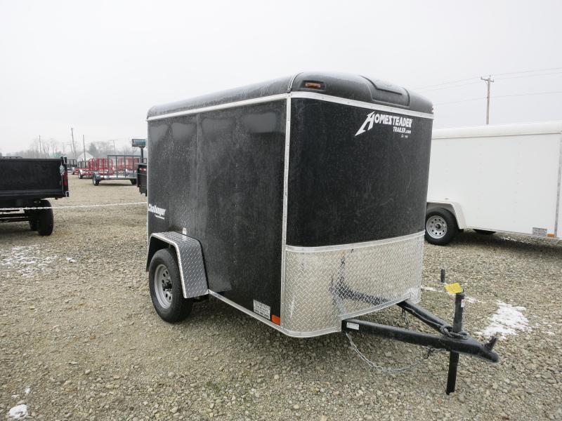 Homesteader Trailers 5x8 Enclosed with Single Rear Door