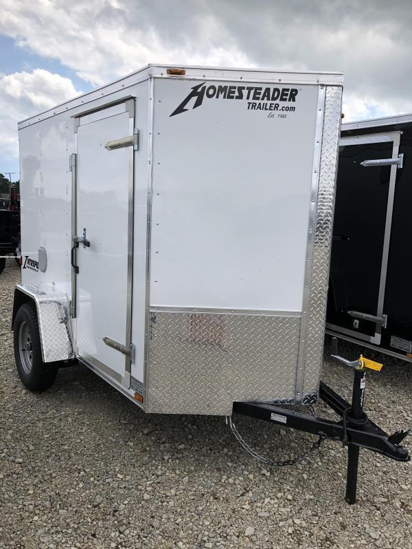 Homesteader 5x8 SA Enclosed Trailer w ramp door in Ashburn, VA