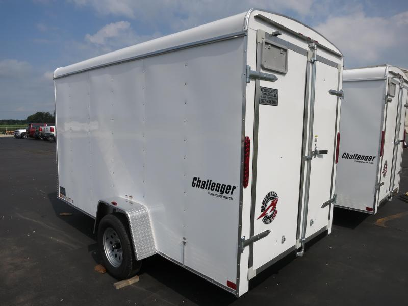 Homesteader Trailers 6X12 Enclosed with Double Rear Doors