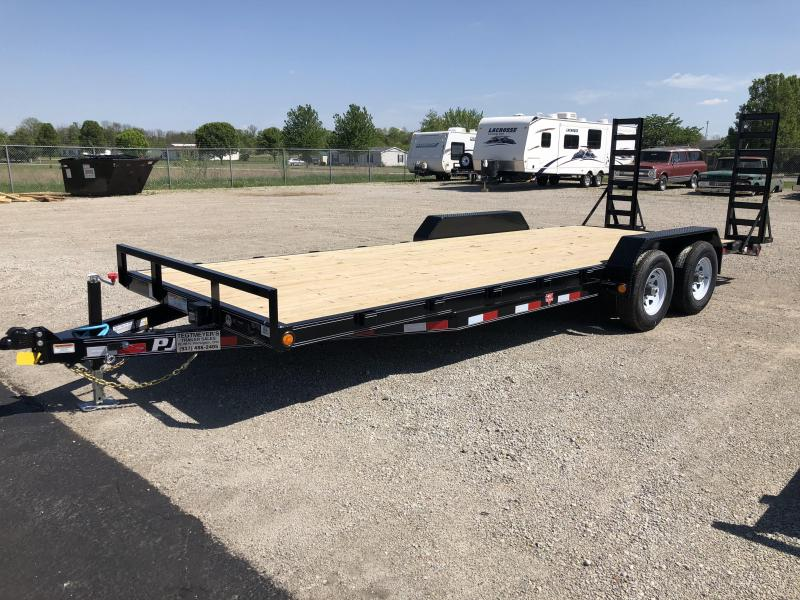 PJ Trailers 22' Flatbed