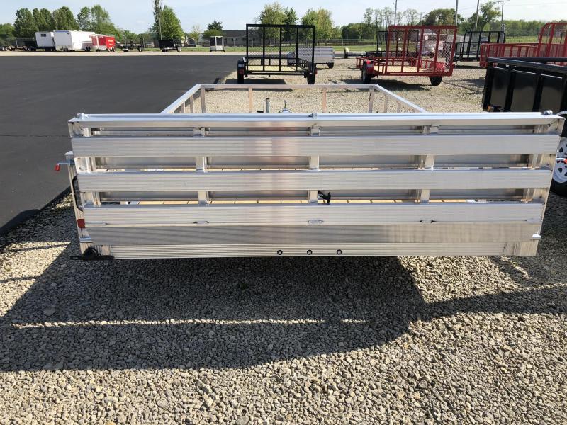 Sport Haven 7x12 Aluminum Utility Trailer w/ Bi-fold Gate