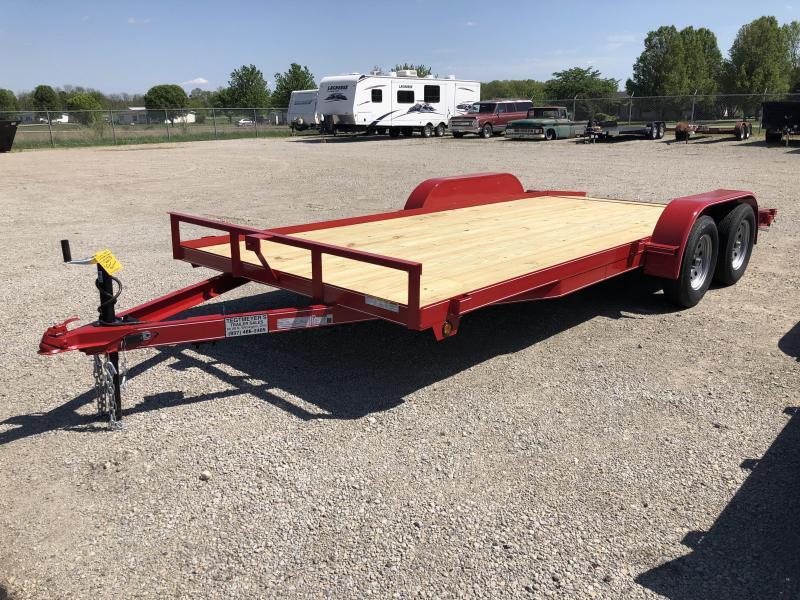 Lone Wolf Trailers 18' Wood Floor Car Trailers w/ ramps - 7000 GVW - BRAKE in Ashburn, VA