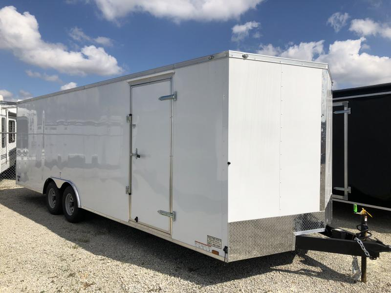 Continental Cargo 8.5X24 Enclosed Trailers W/ Ramp Door - 10000 GVW - Drings