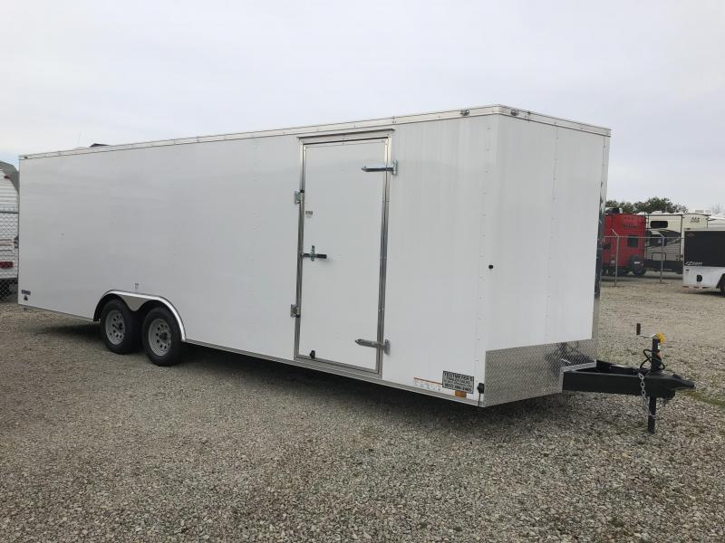 Continental Cargo 8.5X24 Enclosed Trailers W/ Ramp Door - 7000 GVW - Drings