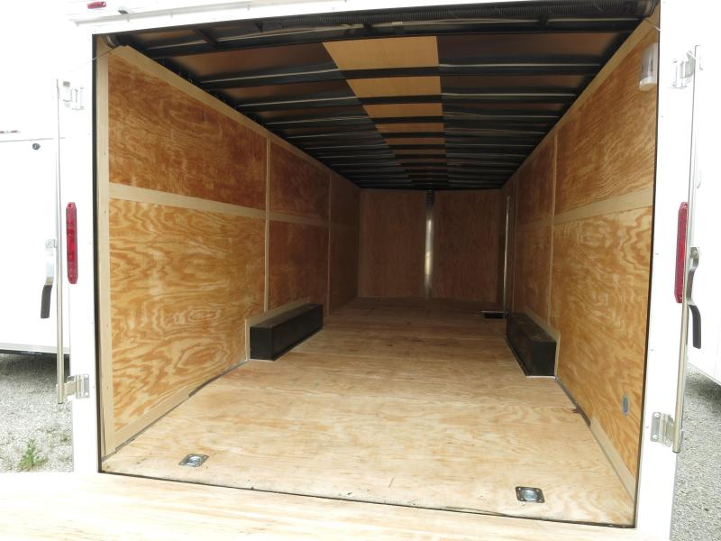 Homesteader Trailers 8.5x20 Enclosed Trailer w/ ramp door - Side Door