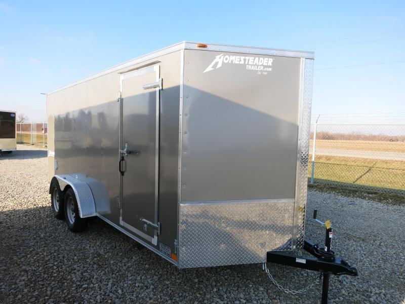 Homesteader 7x16 Enclosed Trailer with Ramp Door