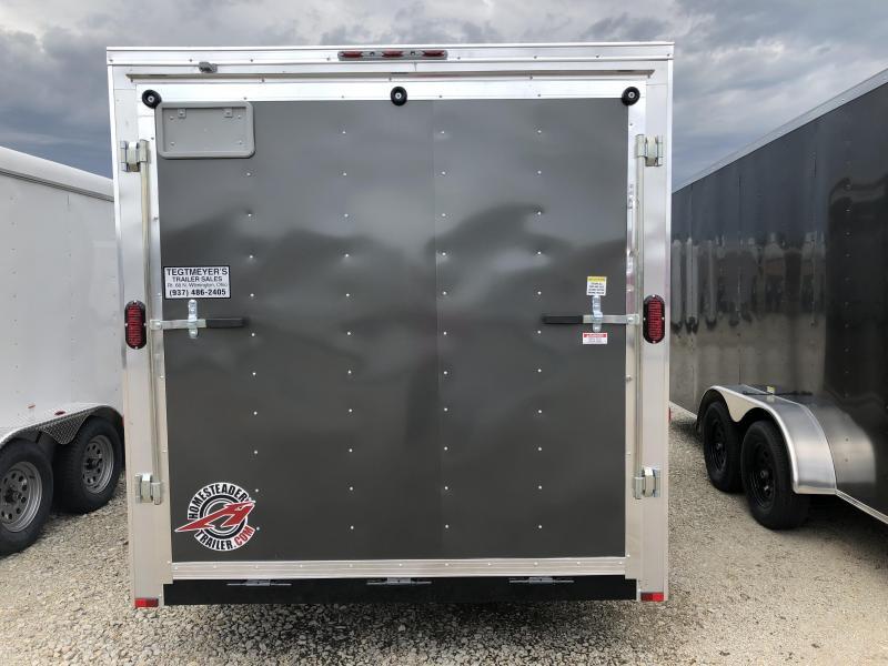Homesteader Trailers 7x16 Enclosed Trailer w/ Ramp Door