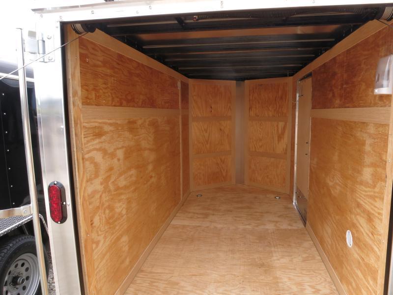 Homesteader 5x10 SA Enclosed Trailer w ramp door