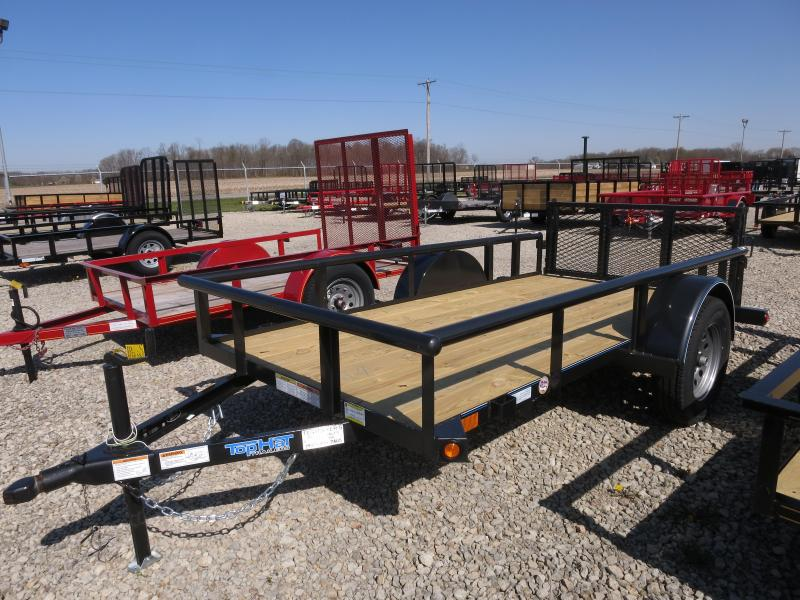 Top Hat Trailers 5x10 Utility Trailers w/ Gate - 2900#