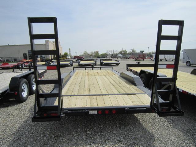 PJ Trailers 20' Super-Wide Equipment Trailer - Buggy Hauler