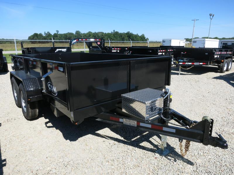 Cam Superline Trailers  6x12 Dump Trailer