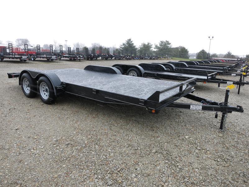 Lone Wolf Trailers 18' Steel Floor Car Hauler w/ ramps - dove in Ashburn, VA