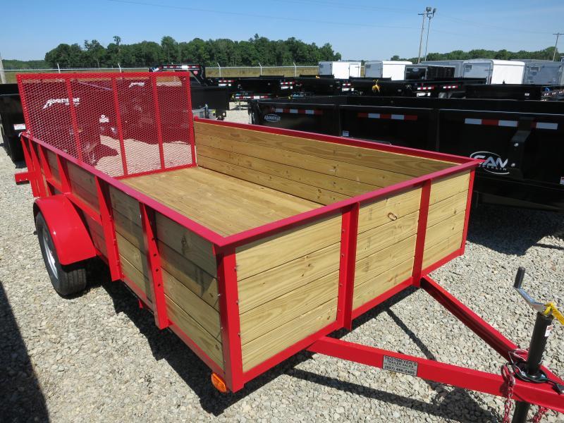 American Manufacturing 6x12 Utility Trailer w/ wood sides gate in Ashburn, VA