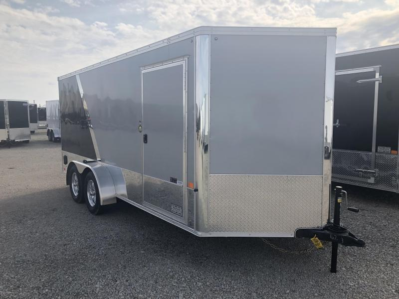 United 7x16 Tandem Axle XLMTV Enclosed Trailer