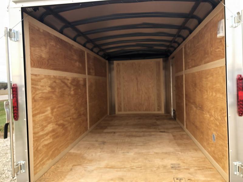 Homesteader Trailers 7x16 Enclosed Trailer w/ Ramp Door - Side Door