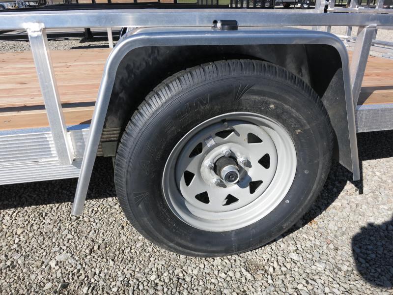 Sport Haven 6x10 Single Axle Aluminum Utility Trailer w/ Gate
