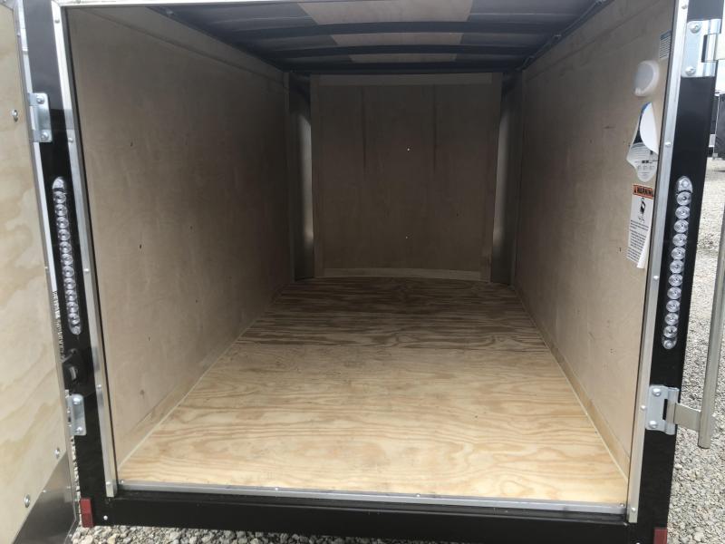 Continental Cargo 5X8 Single Axle Enclosed Trailers