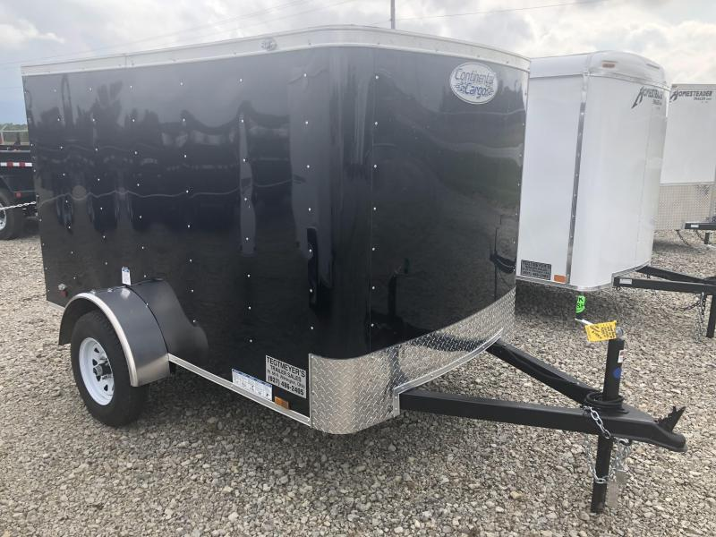 Continental Cargo 5X8 Single Axle Enclosed Trailers