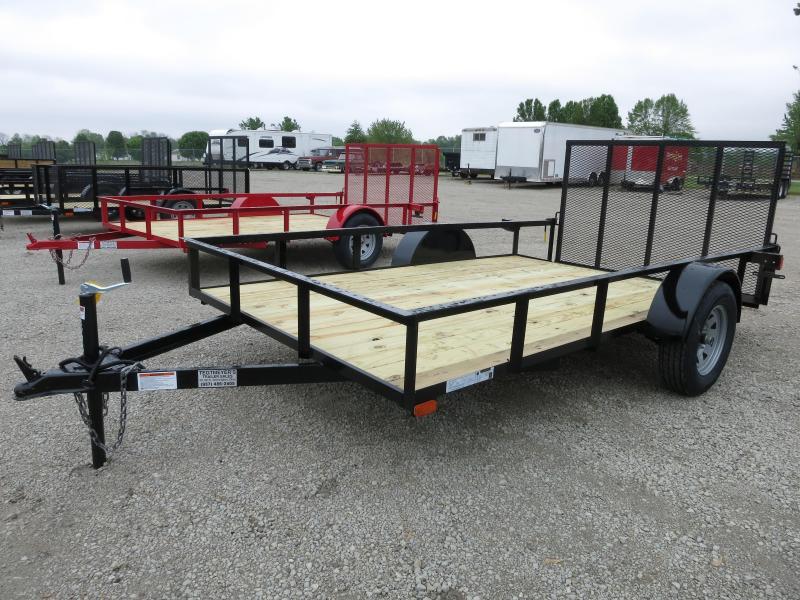 American Manufacturing 6x12 Utility Trailer w/ gate in Ashburn, VA