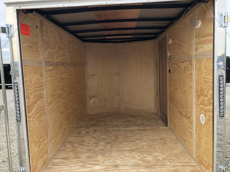 Continental Cargo 6X10 Enclosed Trailers W/ Ramp Door - LED - Dome Light