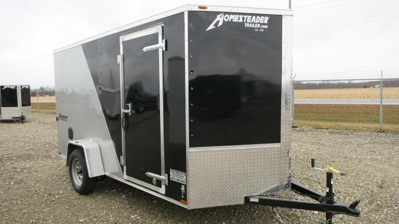 Homesteader Trailers 6x12 Enclosed Trailer w/ Ramp Door - D Rings - Side Wall Vents in Ashburn, VA