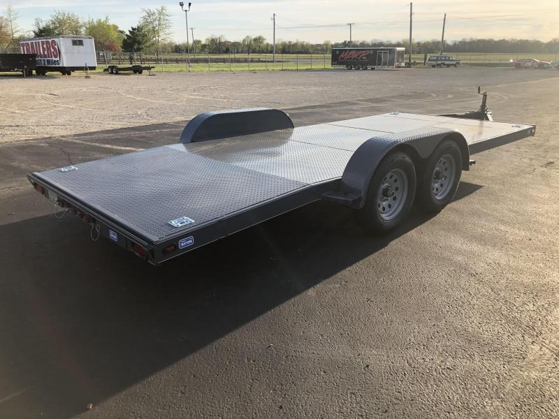 Nation Tank & Trailers - 18' Steel Floor Car Hauler w/ ramps - removable fenders in Ashburn, VA
