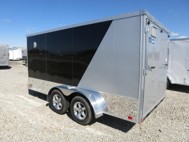 United Trailers 7x14 Enclosed Trailer XLMTV w/ Ramp Door - Motorcycle Trailer