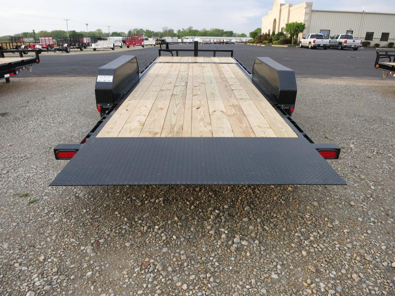 PJ Trailers 20' Equipment Trailer - Tiltbed