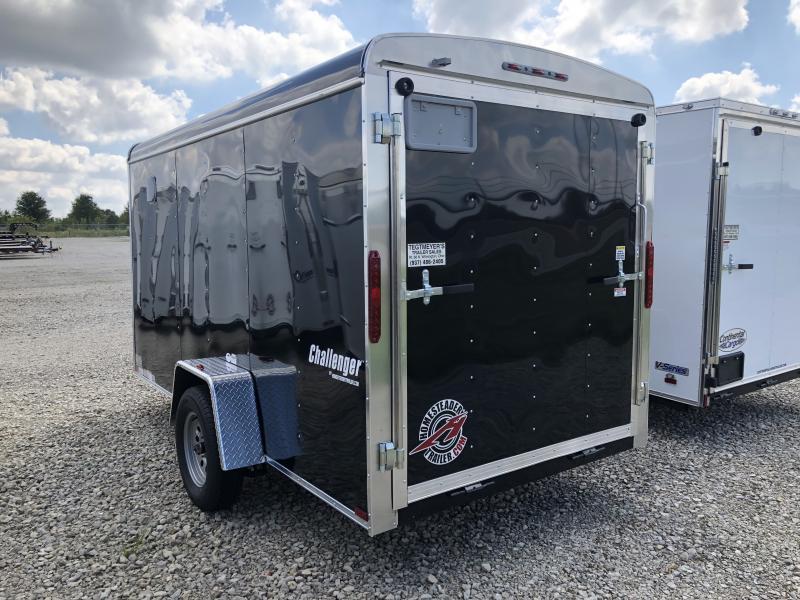 Homesteader Trailers 6x12 Enclosed Trailer w/ Ramp Door - Side Door