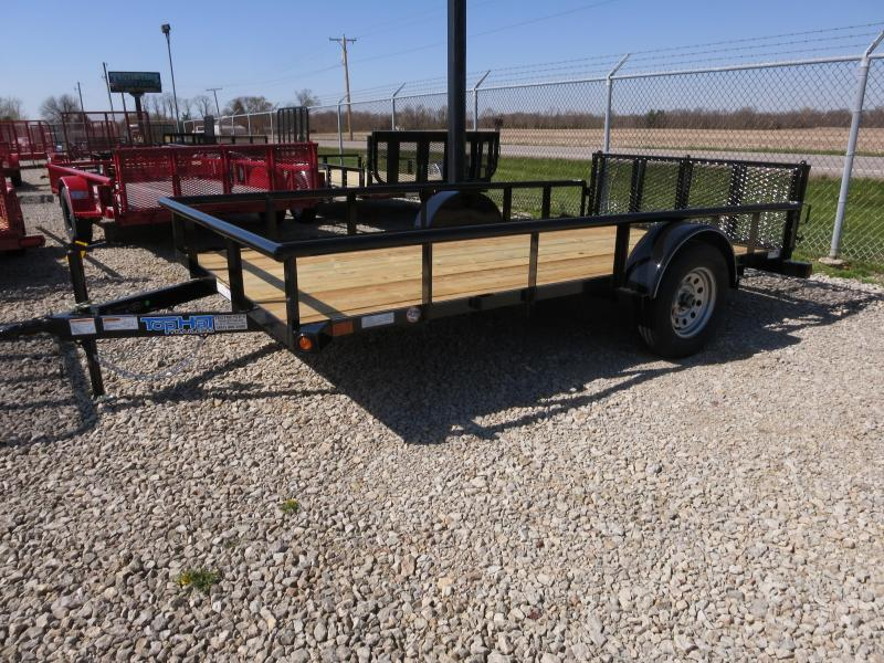 Top Hat Trailers 6x12 Utility Trailers w/ Gate - 2900#