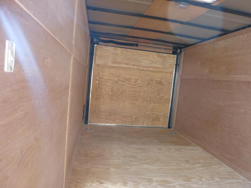 Used Freedom Trailers 7x16 Enclosed Trailer w/ Ramp Door - RV Door